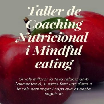 Taller de Coaching Nutricional i Mindful Eating